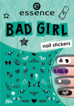 essence bad girl nail stickers 02
