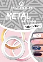 essence metal stripes nail stickers 04