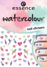 essence watercolour nail stickers 07