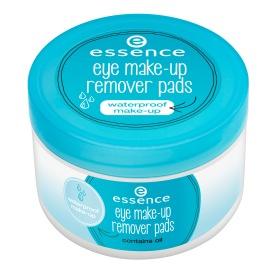essence eye make-up remover pads
