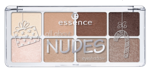ess. advent calendar all about nudes eyeshadow