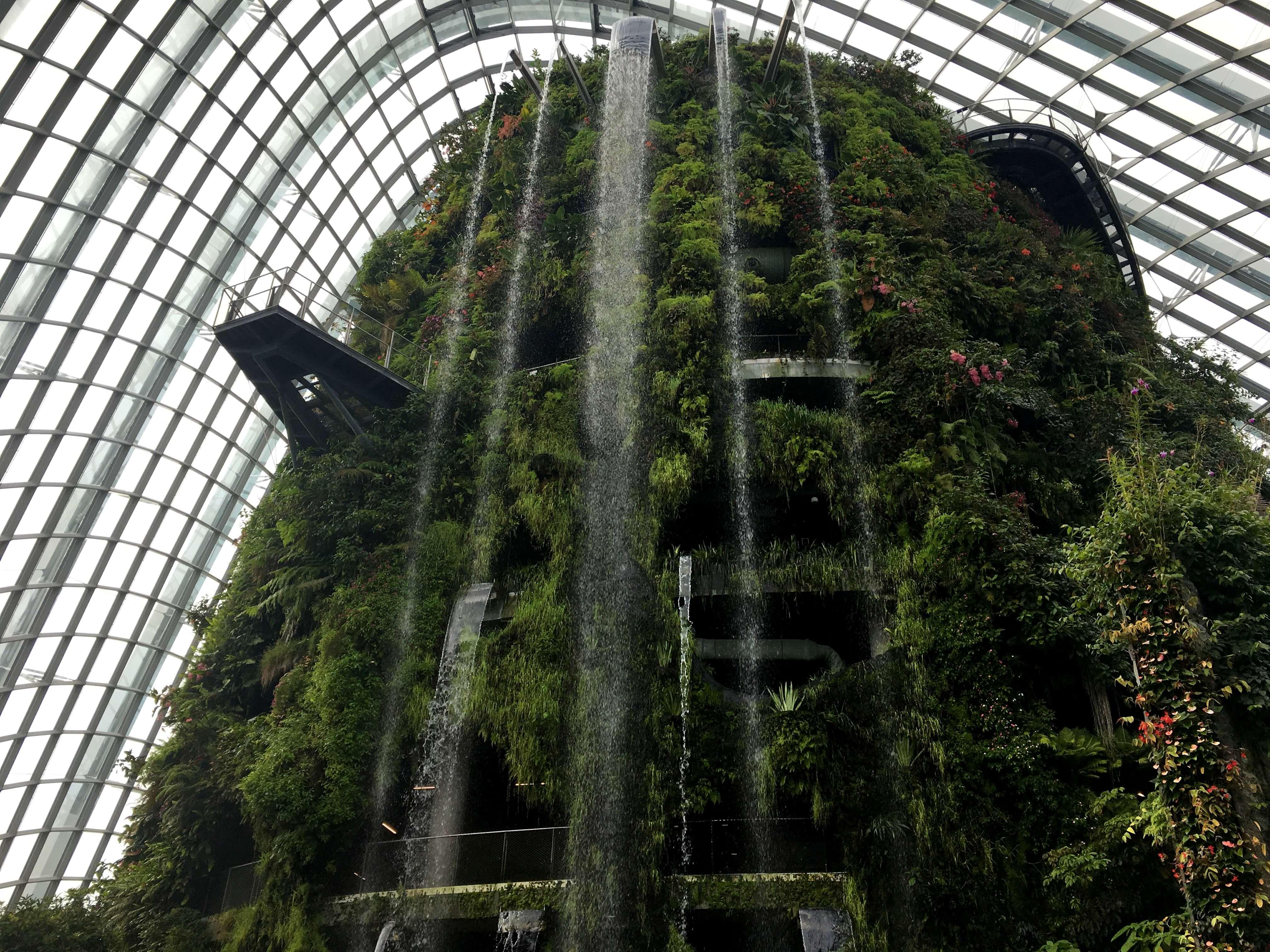 singapur-reisetagebuch-gardens-by-the-bay-cloud-forest-makeupinflight-1