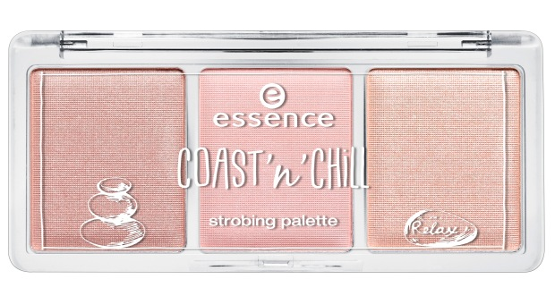 essence coast 'n' chill strobing palette