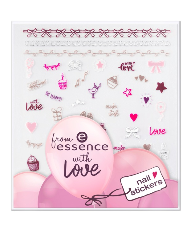 ess. from essence with love nail stickers